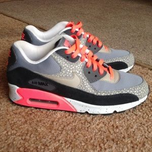 a8f7b3e53cf1 Nike Shoes - Nike Air Max 90 Premium PRM Bamboo OG Safari